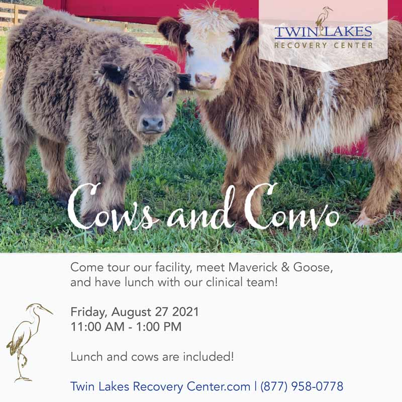 Cows and Convo - August 27, 2021 at Twin Lakes